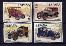 ESPAGNE - 2048/2051** - AUTOMOBILES ANCIENNES - 1931-Aujourd'hui: II. République - ....Juan Carlos I
