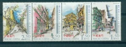 MACAO CHINE 1319/22 Rues De Macao - 1999-... Région Administrative Chinoise