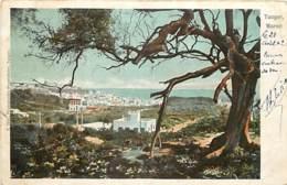 MAROC TANGER  VUE GENERALE - Tanger
