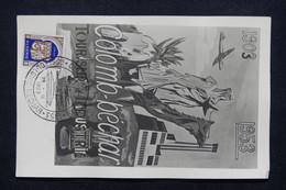 ALGÉRIE - Carte Du Cinquantenaire De Colomb- Béchar En 1953 - L 21576 - Algeria (1924-1962)