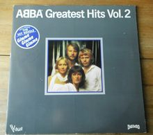 """Vinyle """"ABBA""""  """"Greatest Hits Vol. 2"""" - Rock"""