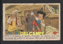 DD / DISNEY / PINOCCHIO / PINOCCHIO ET GEPETTO - Disney