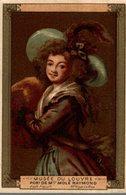 CHROMO MOKA LEROUX  MUSEE DU LOUVRE PORTRAIT DE Mme MOLE RAYMOND  ECOLE FRANCAISE  Mme Vigee Le Brun - Chromos