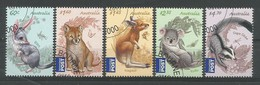 Australien 2011 , Mi.Nr. 3579 / 3583 , Jungtiere - CTO  Gestempelt / Used / (o) - 2010-... Elizabeth II
