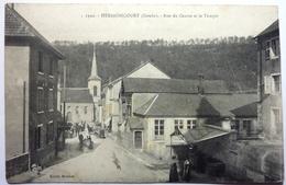 RUE DU CENTRE ET LE TEMPLE - HÉRIMONCOURT - France