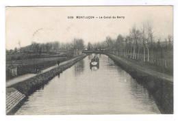MONTLUCON  LE CANAL DU BERRY - Montlucon