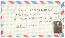 AE174    Cover Air Mail Quito To Vienna 1980 Bolivar, Scott.C718 - Ecuador