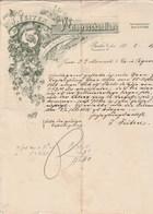 Allemagne Facture Lettre Illustrée 19/3/1902 J FEITEN Weingrosshandlung BERLIN - Vins - 1900 – 1949