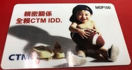 MACAU 1998\99 CTM ID SPECIAL PHONE CARD, FINE USED - Macau