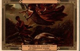 CHROMO MOKA LEROUX  MUSEE DU LOUVRE LA VENGEANCE DIVINE  ECOLE FRANCAISE  PRUD'HON - Chromos