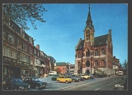 Rochefort - L'Hôtel De Ville - Vintage Car / Voiture Ford, Volvo, Fiat, Citroën, .. - Rochefort