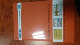 Catalogue MICHEL ENTIERS POSTAUX ALLEMAGNE 2018 - Catalogues
