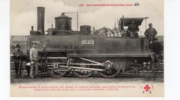 Les Locomotives (Etat)  Machine Tender N°30-623 Pour Service De Manoeuvres Construite En 1862-85. - Trains