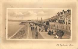 U.K. - Jersey - The Esplanade With Tram - J. Welch & Sons Photo. - Jersey