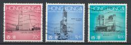 °°° HONG KONG - Y&T N°581/83/84 - 1989 °°° - 1997-... Región Administrativa Especial De China