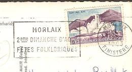 17 - ROSCOFF ( 29 Finistère ) Sana Marin, Château Fort Perharidy ( Philatélie - Belle Flamme Temporaire De Morlaix ) - Roscoff