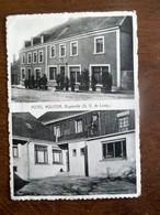 Oude Postkaart 1952   Hotel  MOLITOR   Bigonville - Autres