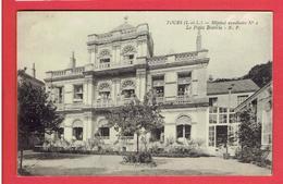 TOURS 1915 HOPITAL AUXILIAIRE MILITAIRE 2 LA PETITE BRETECHE CORRESPONDANCE DE BLESSE CARTE EN BON ETAT - Tours