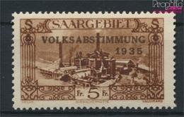 Saarland 193 Mit Falz 1934 Volksabstimmung (9265170 - 1920-35 Saargebiet – Abstimmungsgebiet