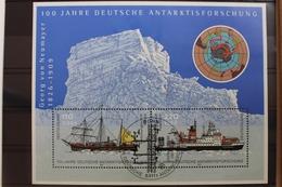 BRD Block Mit 57 Mit 2229-2230 Gestempelt Schiffe #RN362 - BRD