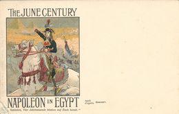 THE JUNE CENTURY  NAPOLEON IN EGYPT D'après GRASSET - Illustrateurs & Photographes