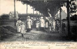 Braschaat - Kaart - Wandeling Naar ' T Mastbosch - Brasschaat