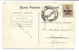 Postkaart Pulle Met Censuur Verstuurd Naar Borgerhout. - Non Classés