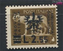Laibach (Dt.Bes.2.WK.) 14 Geprüft Postfrisch 1944 Aufdruckausgabe (9265127 - Besetzungen 1938-45