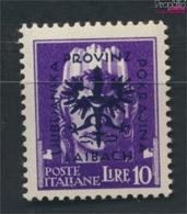 Laibach (Dt.Bes.2.WK.) 16 Geprüft Postfrisch 1944 Aufdruckausgabe (9265125 - Besetzungen 1938-45