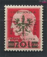 Laibach (Dt.Bes.2.WK.) 17 Geprüft Postfrisch 1944 Aufdruckausgabe (9265124 - Besetzungen 1938-45