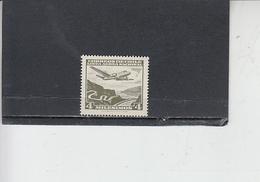 CILE  1960-62 - Yvert  A 194** -aereo - Cile