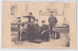 NOVILLARS Par Roche (Doubs) - Carte-photo Grande Guerre Mitraillette Mitrailleur 12e Compagnie - France