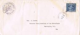 31275. Carta Aerea SAN SALVADOR (El Salvador) 1940. CONSULADO De Holanda, Nederland - El Salvador