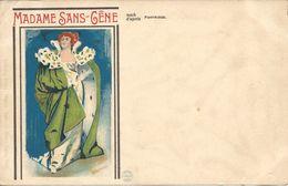 MADAME SANS-GENE D'après PARTRIDGE Theatre - Illustratori & Fotografie