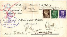 Testata Di Piego ( 218 ) - 1900-44 Vittorio Emanuele III