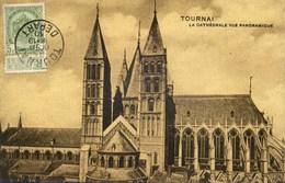 TOURNAI LA CATHEDRALE VUE PANORAMIQUE - Tournai