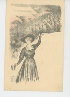 GUERRE 1914-18 - Jolie Carte Fantaisie Illustrée Par CHARLES LEANDRE Pour LA JOURNÉE DU CALVADOS LE 15 AOUT 1915 - Guerre 1914-18