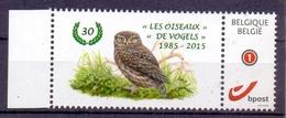 Belgie - 2015  **  Duostamp - Steenuil -  Vogels -  A.Buzin ** - 1985-.. Oiseaux (Buzin)