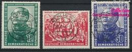 DDR 286-288 (kompl.Ausg.) Gestempelt 1951 Deutsch-chinesische Freundschaft (8844014 - DDR