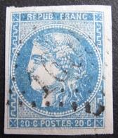 DF50478/111 - CERES EMISSION DE BORDEAUX N°46B - GC 1605 : FYE (Savoie) ➤➤ INDICE 9 - 1870 Bordeaux Printing