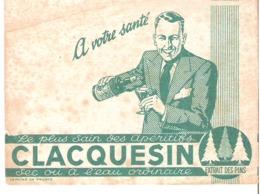 Clacquesin - Le Plus Sain Des Apéritifs - Extrait Des Pins - Buvard - Liqueur & Bière