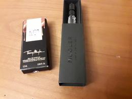 2 Echantillons   TH. MUGLER **  ALIEN **  EdP Et  ** Over The Musk** EdP - Perfume Cards