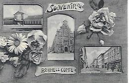 CPA / AK / PK   -   BRAINE-LE COMTE   Souvenir De Braine Le Comte  ( Gare ) - Braine-le-Comte