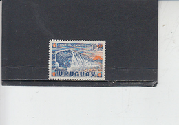 URUGUAY  1959- Yvert  667** - Diga - Uruguay