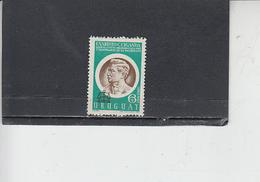 URUGUAY  1970- Yvert  A 358** - Ciganda - Uruguay
