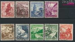 Deutsches Reich 675-683 (kompl.Ausg.) Gestempelt 1938 Landschaften (9264962 - Gebraucht