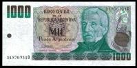 Argentina 1000 PESOS Serie D ND 1983-85 P 317b UNC  [Argentijnse Argentine ) - Argentine