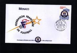 Monaco 2004 100 Years Of FIFA Interesting Cover - Fútbol