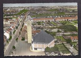 CPSM 59 - PETITE SYNTHE - Eglise Saint-Nicolas - TB PLAN CENTRE VILLAGE Intérieur Avec Détails Des Maisons 1964 - Other Municipalities