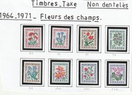 France Timbre Non Dentele Taxe Série 95 A  102   Sans Charnière ** - Francia